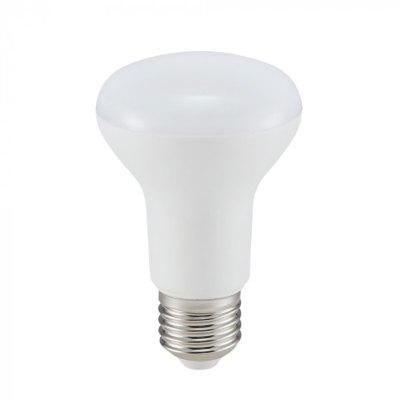 Image of   V-Tac 8W LED spotpære - Samsung LED chip, R63, E27 - Kulør : Varm, Dæmpbar : Ikke dæmpbar