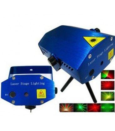 Disco Laser - rød og grøn