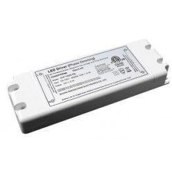 power.45w.dim: Strømforsyning dæmpbar - 45W, 12V DC, perfekt til MR16, MR11, G4 og LED strip
