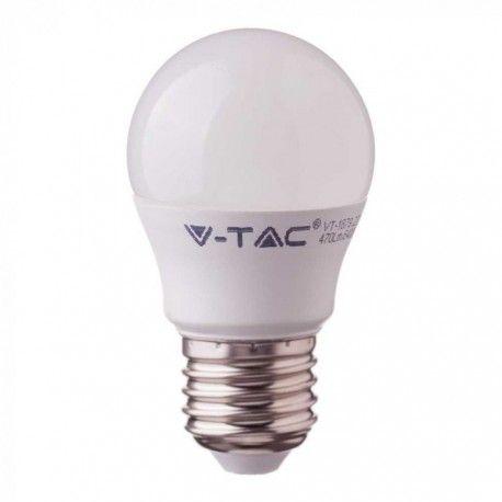 V-Tac 5.5W LED pære - Samsung Chip, G45, E27