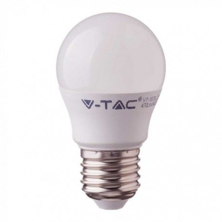 V-Tac 5,5W LED pære - Samsung LED chip, G45, E27