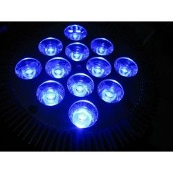 LED vækstlampe, 12w, E27, Ren Blå Grow lamp