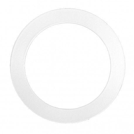 Forstørrelsesring - Hul: Ø7,7 cm, Mål: 12,5 cm, mat hvid, passer til Inno88