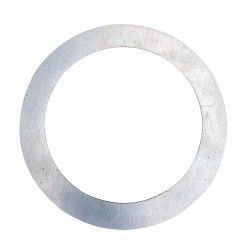 Indendørs indbygningsspots Forstørrelsesring - Hul: Ø7,7 cm, Mål: 12,5 cm, rustfri stål