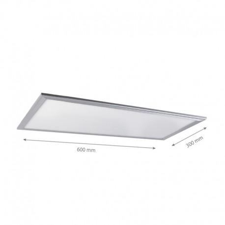 LED Panel 60x30 - 20W, 1800lm, hvid kant