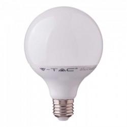V-Tac 17W LED globepære - Samsung Chip, Ø12 cm, E27