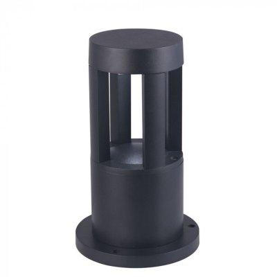 Image of   V-Tac 10W LED havelampe - Sort, 25 cm, IP65, 230V - Kulør : Varm, Dæmpbar : Ikke dæmpbar