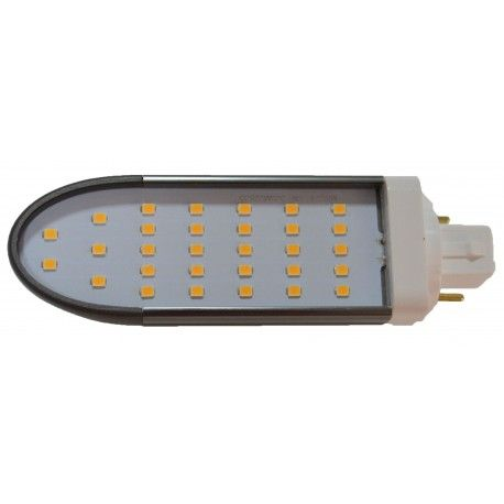 LEDlife G24Q-DIRECT8 LED pære - HF ballast kompatibel, 120°, 8W