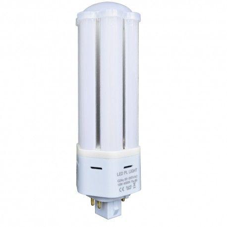 Image of   LEDlife G24Q-DIRECT13 LED pære - HF ballast kompatibel, 360°, 13W, Kulør: Varm, Dæmpbar: Ikke dæmpbar