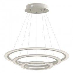 Loftslamper V-Tac 70W LED lysekrone med 3 ringe - Dæmpbar, blødt lys, Ø60 cm