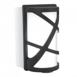 V-Tac sort væglampe - IP54 udendørs, E27 fatning, uden lyskilde