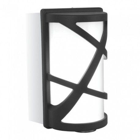 V-Tac sort væglampe - IP54, E27 fatning