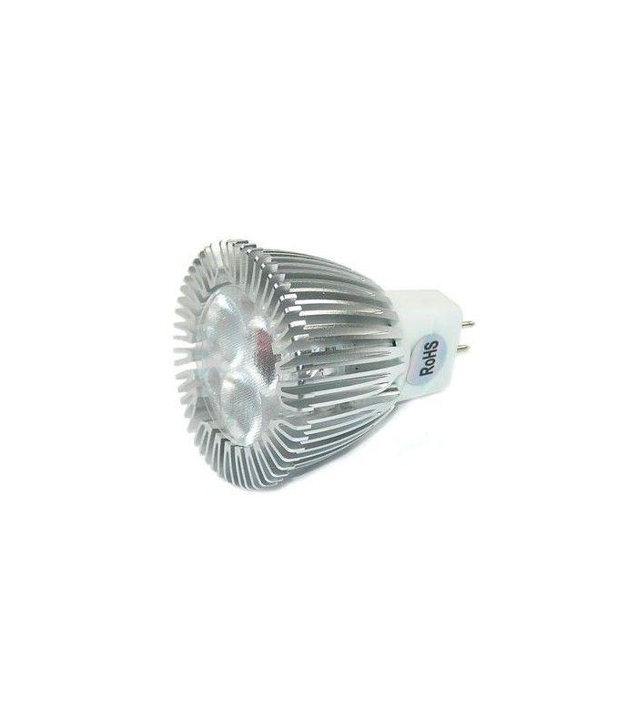 ledlife helo3 led p re 3w d mpbar varm hvid 35mm 12v mr11 gu4. Black Bedroom Furniture Sets. Home Design Ideas