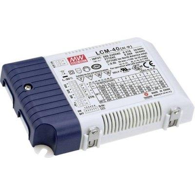 Image of   Meanwell LCM-40DA DALI dæmpbar driver til LED panel - Med Dali interface, passer til vores 29W LED paneler - Dæmpbar : DALI dæmpbar