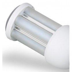 GX24Q LED pære - 10W, 360°, mat glas