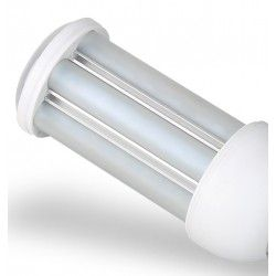 GX24Q-PL.360.13w: GX24Q LED pære - 13W, 360°, mat glas