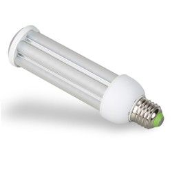 E27 Stor fatning E27 LED pære - 24W, 360°, mat glas
