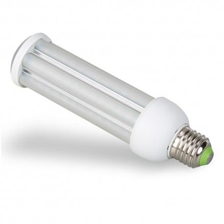 E27 LED pære - 24W, 360°, mat glas