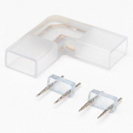 Samler til 230V LED strip til brug ved hjørner