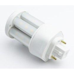 GX24D LED pære - 5W, 360°, mat glas