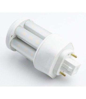 Image of   LEDlife GX24D LED pære - 5W, 360°, mat glas, Kulør: Varm