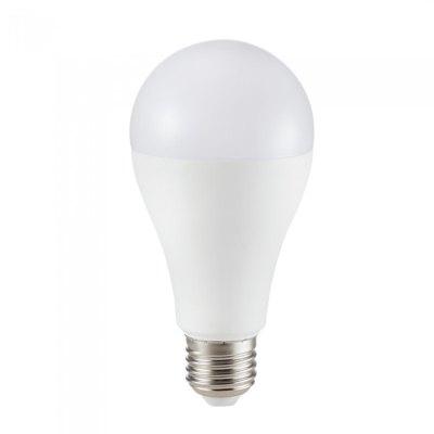 Image of   V-Tac 12W LED pære - Samsung LED chip, A65, E27 - Kulør : Neutral, Dæmpbar : Ikke dæmpbar