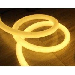 D16 Neon Flex LED - 8W pr. meter, varm hvid, IP67, 230V