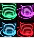 RGB 8x16 Neon Flex LED - 18W pr. meter, IP67, 230V