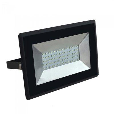 Image of   V-Tac 50W LED projektør - Arbejdslampe, udendørs - Kulør : Kold, Dæmpbar : Ikke dæmpbar, Farve på hus : Sort