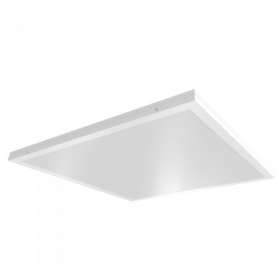 Image of   LED panel 60x60 - 40W, 3200lm, indbygget i hvid ramme - Kulør : Neutral, Dæmpbar : Ikke dæmpbar