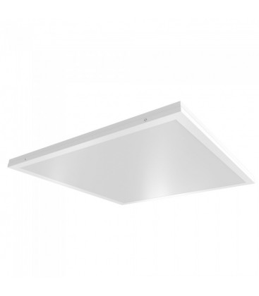 LED panel 60x60 - 40W, 4000lm, indbygget i hvid ramme