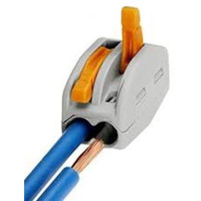 Image of   Skrueløs samlemuffe til 2 ledninger