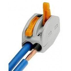 Indbygningsspot Skrueløs samlemuffe til 2 ledninger