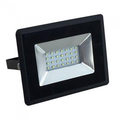 Image of   V-Tac 20W LED projektør - Arbejdslampe, udendørs - Kulør : Kold, Dæmpbar : Ikke dæmpbar, Farve på hus : Hvid