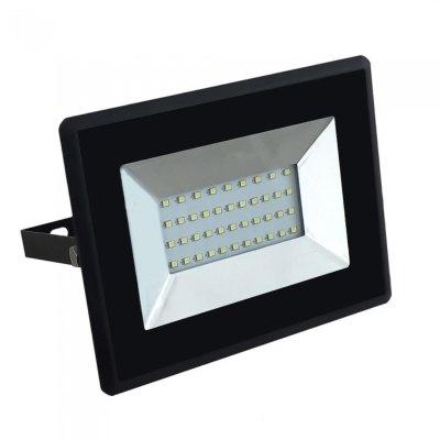 Image of   V-Tac 30W LED projektør - Arbejdslampe, udendørs - Kulør : Kold, Dæmpbar : Ikke dæmpbar, Farve på hus : Sort