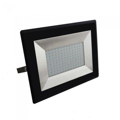 Image of   V-Tac 100W LED projektør - Arbejdslampe, udendørs - Kulør : Neutral, Dæmpbar : Ikke dæmpbar, Farve på hus : Sort
