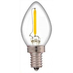 E14 Lille fatning LEDlife 0,5W mini pære - Dæmpbar, 230V, E14