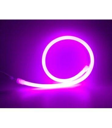 D16 Neon Flex LED - 8W pr. meter, lilla / pink, IP67, 230V