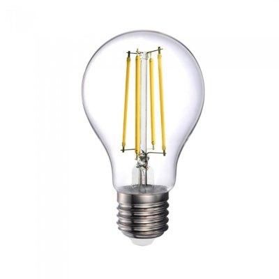 Image of   V-Tac 12,5W LED pære - Kultråd, A70, E27 - Kulør : Varm, Dæmpbar : Ikke dæmpbar
