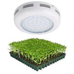 LED Vækstlamper LED UFO vækstlampe, 90W (43 x 3W LED), 230V, Grow lamp