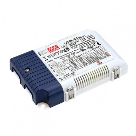 Meanwell LCM-60 0-10V dæmpbar driver til LED panel - Passer til vores 45W LED paneler