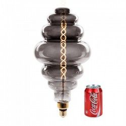 E27 Stor fatning V-Tac 8W LED kæmpe globepære - Kultråd, Ø20 cm, dæmpbar, ekstra varm hvid, 2000K, E27