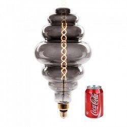 V-Tac 8W LED kæmpe globepære - Kultråd, Ø20 cm, dæmpbar, ekstra varm hvid, E27