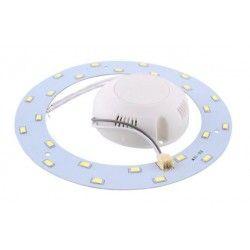 2D kompakt lysstofrør 6W LED indsats - Ø11 cm, erstat cirkelrør og kompaktrør