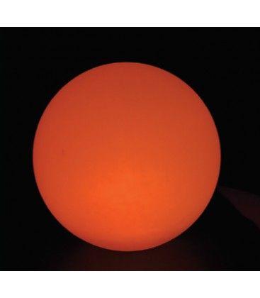 V-Tac RGB LED kugle - Genopladelig, med fjernbetjening, Ø40 cm