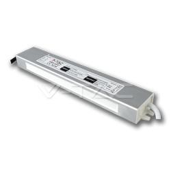 V-Tac strømforsyning - 30W, IP65, 12V, 1,5A, vandtæt