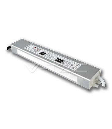 V-Tac 30W strømforsyning - 12V DC, 2,5A, IP65 vandtæt