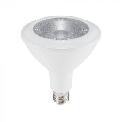 Image of   V-Tac 17W LED spotpære - PAR38, IP65, E27 - Kulør : Varm, Dæmpbar : Ikke dæmpbar