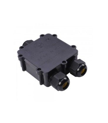 V-Tac samlebox - Til videresløjfning, IP68 vandtæt
