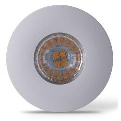 Indbygningsspot LEDlife Inno69 møbelspot - Hul: Ø5,5 cm, Mål: Ø6,9 cm, RA95, mat hvid, 6V